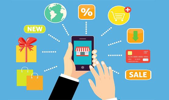 La caída no afecta a las ventas online